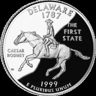 50 State Quarters - Delaware quarter