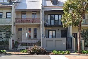Zetland, New South Wales - Image: 1 Zetland Terrace Homes