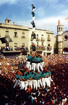 ¿Que son los Castellers?