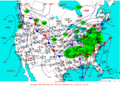 2003-02-22 Surface Weather Map NOAA.png