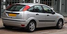 2003 Ford Focus Zetec 1.6 Rear.jpg