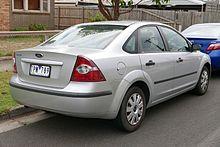 ford focus sedan second generation australia - Ford Focus 2007 Sedan