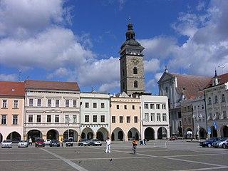 Black Tower (České Budějovice) tower in České Budějovice