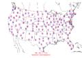 2006-07-16 Max-min Temperature Map NOAA.png