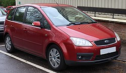 2006 Ford Focus C-Max Ghia Automatic 2.0 Front.jpg