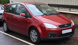 Ford C-Max - Image: 2006 Ford Focus C Max Ghia Automatic 2.0 Front