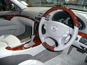 Takata Corporation - Takata steering-wheel in a Mercedes-Benz E-Class