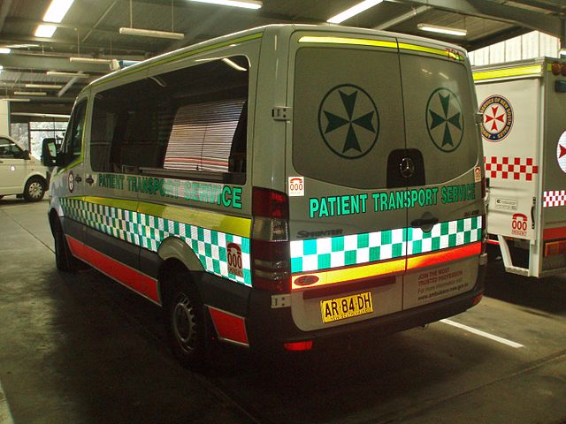 File 2007 mercedes benz sprinter 311cdi ambulance for Mercedes benz emergency number
