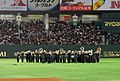 2008 MLB Opening Day game Red Sox and Athletics.jpg
