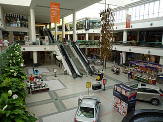 Southdale Center - View of the center court
