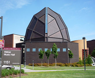 University of Minnesota Duluth - Weber Music Hall
