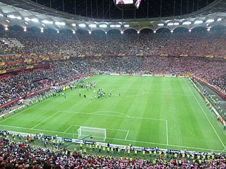 Arena Națională - Image: 2011 12 Europa League Final