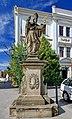 2012 Karwina, Frysztat, Pomnik Świętego Patryka (01).jpg