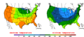 2013-05-12 Color Max-min Temperature Map NOAA.png