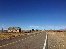 2013-10-20 15 46 04 View north along Nevada State Route 228 in Jiggs.JPG
