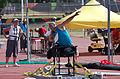 2013 IPC Athletics World Championships - 26072013 - Jamil Elshebli of Jordan during the Men's Shot put - F56-57 4.jpg