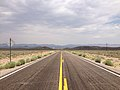 2014-07-17 13 34 22 View east along U.S. Route 6 about 31.2 miles east of the Esmeralda County Line in Nye County, Nevada.JPG