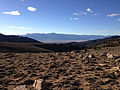 2014-10-19 16 43 48 View west towards Big Smokey Valley from about 8780 feet along the four-wheel drive road between Jefferson Summit and the trail to the south summit of Mount Jefferson, Nevada.JPG