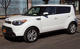 2014 Kia Soul Plus US Front Left