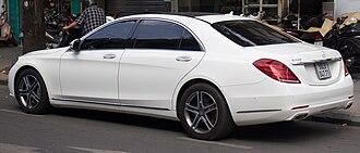 Mercedes-Benz S-Class (W222) - Long wheelbase