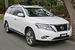 Nissan Pathfinder Sv  Car Chargers In Back