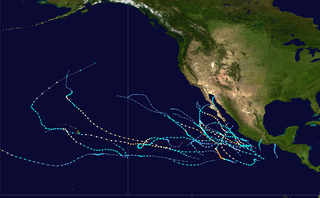 2014 Pacific hurricane season Period of formation of tropical cyclones in the Eastern Pacific Ocean in 2014