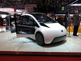 Automotive industry in India - A Tata Motors next generation concept car at the 2015 Geneva Motor Show