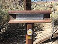 2015-04-02 15 07 39 Central Overland Trail historic marker along U.S. Route 50 near Middlegate, Nevada.JPG