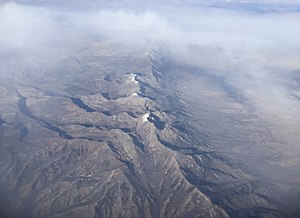 East Humboldt Range - Image: 2015 10 27 14 56 50 View of the East Humboldt Range, Nevada from an airplane