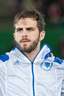 Miralem Pjanić Bosnian footballer