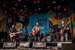 HONIG auf dem Open Source Festival, 2015