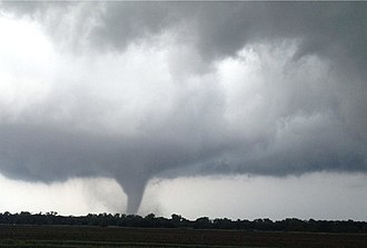 Tornado outbreak sequence of May 5–10, 2015 - EF3 tornado near Mount Hope, Kansas