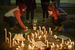 2015 Chapel Hill shooting - A vigil in Chapel Hill on February 11, 2015