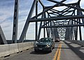 2016-07-22 10 45 54 View north along U.S. Route 301 (Governor Harry W. Nice Memorial Bridge) crossing the Potomac River from King George County, Virginia to Charles County, Maryland.jpg
