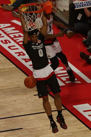 Miles Bridges - Bridges dunk in the 2016 McDonald's All-American Game
