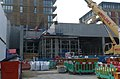 2016 Woolwich, Crossrail Station construction site 06.jpg