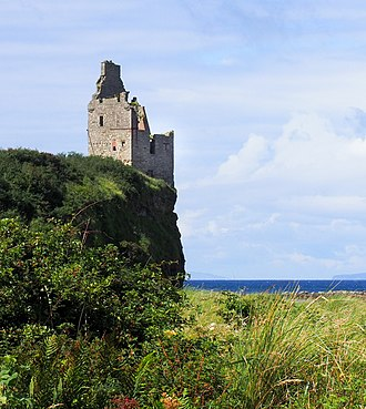 Greenan Castle - Greenan castle