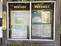 2017-09-11 08 56 42 Weather messages on display within Underhill State Park in Underhill, Chittenden County, Vermont.jpg