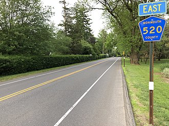 Rumson, New Jersey - CR 520 in Rumson
