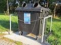 2018-10-04 (100) Waste container at ASFINAG Parkplatz Dornbach.jpg