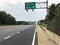 2019-08-15 09 46 33 View south along U.S. Route 1 (Belair Road) at the exit for Interstate 695 EAST (Essex) in Overlea, Baltimore County, Maryland.jpg