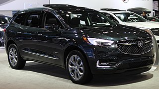 Buick Enclave Mid-size crossover SUV