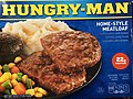 2020-07-17 00 22 11 The box for a Hungry Man Home-Style Meatloaf meal (Meatloaf patties with mashed potatoes, gravy, mixed vegetables and a brownie) in Rochelle Park, Bergen County, New Jersey.jpg