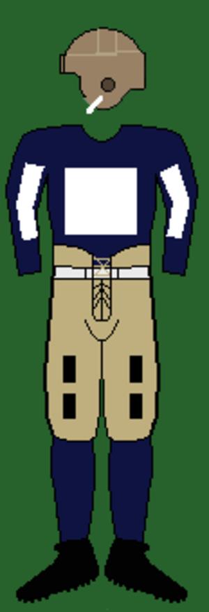 1923 Yale Bulldogs football team - Image: 20syaleuniform