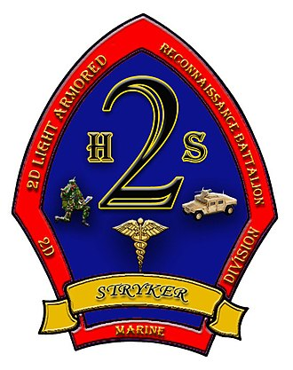 2nd Light Armored Reconnaissance Battalion - Image: 2d LAR H&S Company Logo