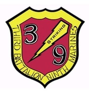3rd Battalion, 9th Marines - 3/9 Insignia