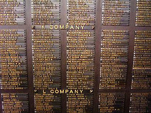 314th Infantry Regiment (United States) - Image: 314th Infantry Regiment AEF Bronze Plaque