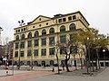 344 Grup escolar Ramon Llull, façana c. Consell de Cent.JPG