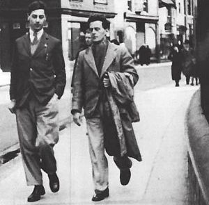 Francis Skinner - Francis Skinner (left) and Ludwig Wittgenstein (right) walking with one another in Cambridge