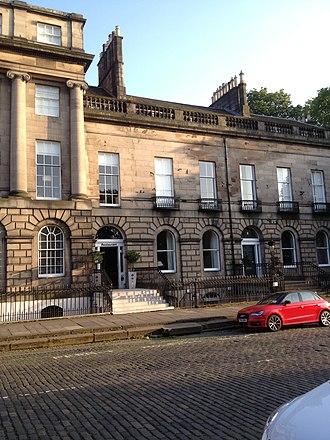 Robert Flint - Flint's home at 3 Royal Terrace, Edinburgh